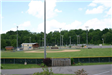 Ball fields front view