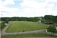 Football field and walking track