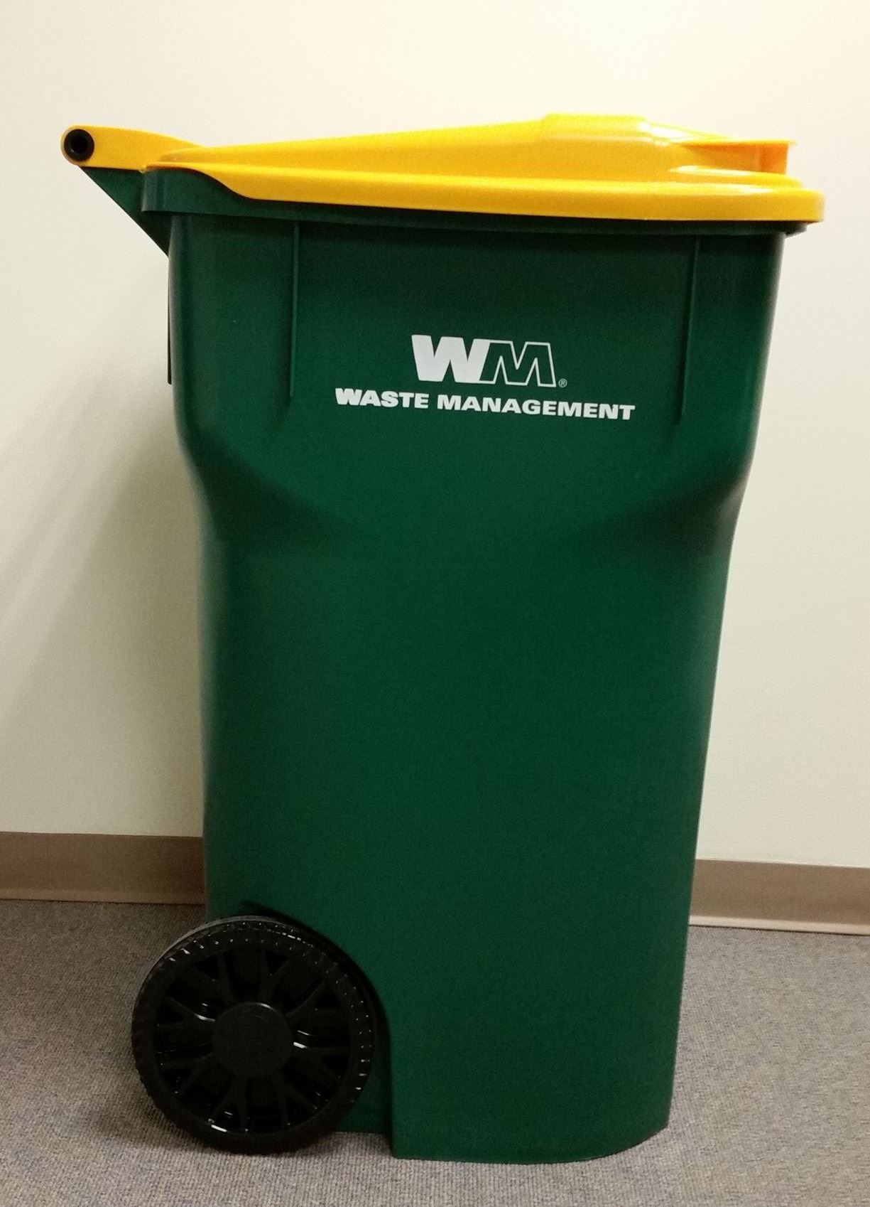 WM Recycling Cart