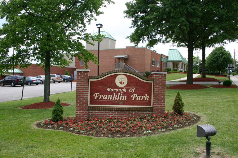 Borough of Franklin Park Sign